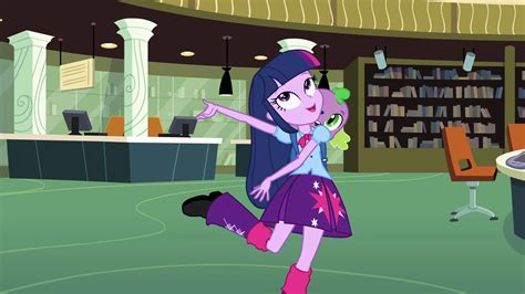 equestria girls twilight and spike image optimistic twilight and spike eg png my little