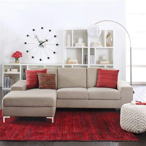 Dania Oregon Sofa by Oregon Chaise Sectional Sectional Sofas