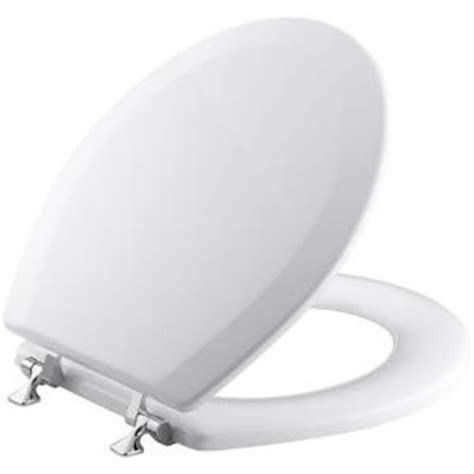 kohler triko molded closed front toilet seat with