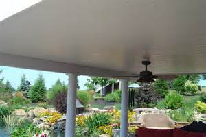 Patio Ceiling Material by Outdoor Patio Soffit Ideas