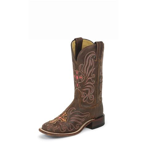 boots with crosses s tony lama 174 san saba with painted cross boots