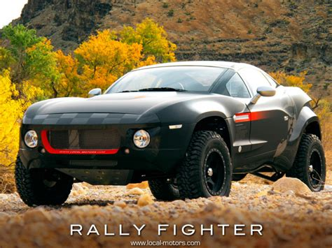 rally fighter price used local motors presents open source vehicle rally fighter