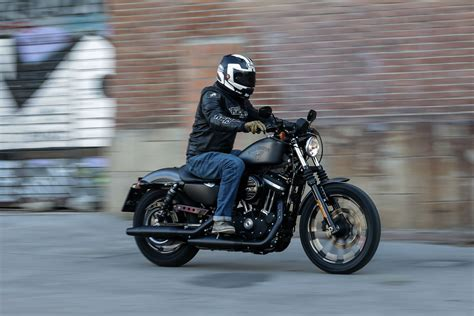 How To Ride A Harley Davidson For The Time by Ride Harley Davidson Sportster Ir Visordown