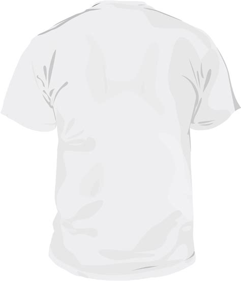 Kaos T Shirts Baju white t shirt template back studio design gallery best design