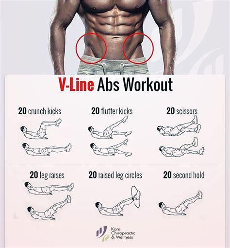 v line abs workout 20 crunch kicks 20 flutter kicks 20