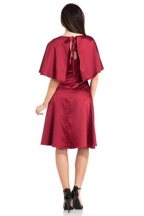 Liza Cape cape dress