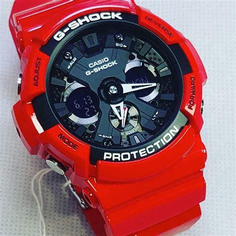 Casio G Shock Ga 201 Rd 4adr Glossy Original casio g shock ga 201rd 4a купить в официальном магазине g