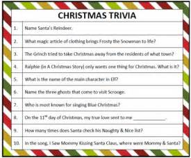 quiz questions list printable christmas trivia game christmas trivia games