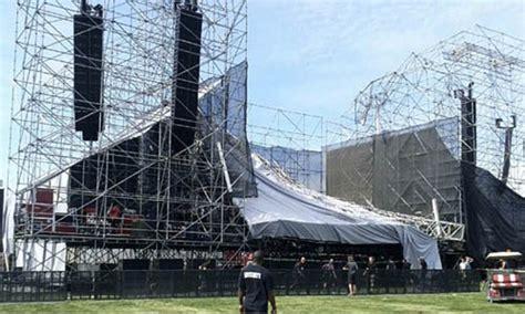 vasco radiohead strutture temporanee per eventi come evitare il crollo