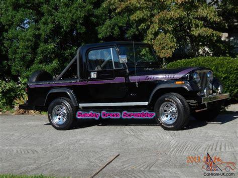jeep scrambler 1982 1982 jeep scrambler laredo cj 8 rebuilt 258 5 speed 4x4