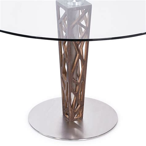 48 glass table top 48 quot clear tempered glass top dining table