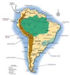 rainforest map south america rainforest map search south america