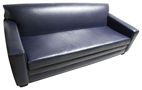 navy blue leather sofas pre owned navy blue leather sofa modern sofas