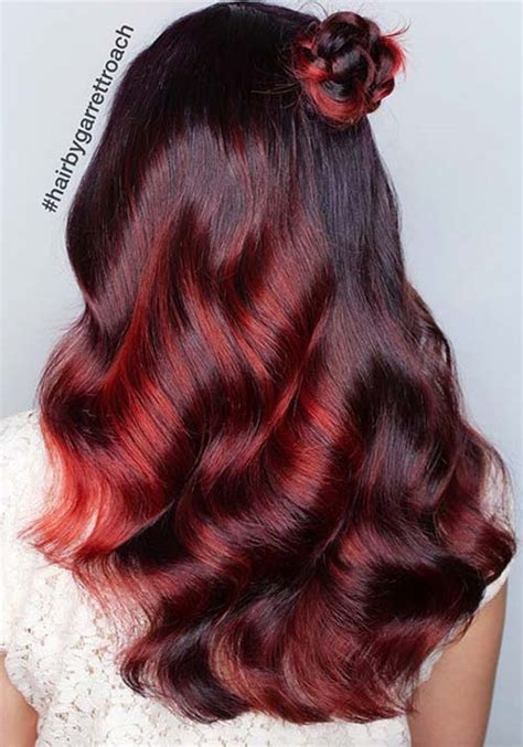 cherry burgundy hair potions the gryffindor lovers