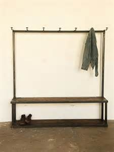 Entrance Bench And Coat Rack Coat Rack Bench Industrial Trees By Strawser