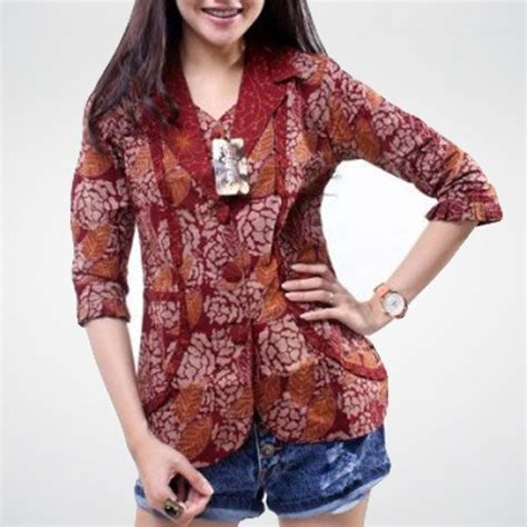 Kencana Ethnic Batik model baju batik kantor terbaru model baju