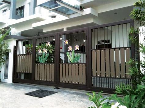 modern gate design for house modern homes main entrance gate designs home interior