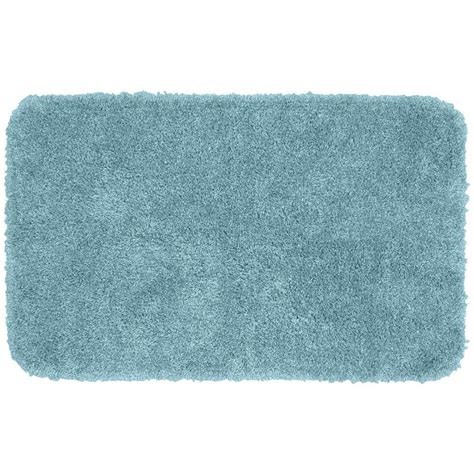 Washable Bathroom Rugs Garland Rug Serendipity Basin Blue 30 In X 50 In Washable Bathroom Accent Rug Ser 3050 13