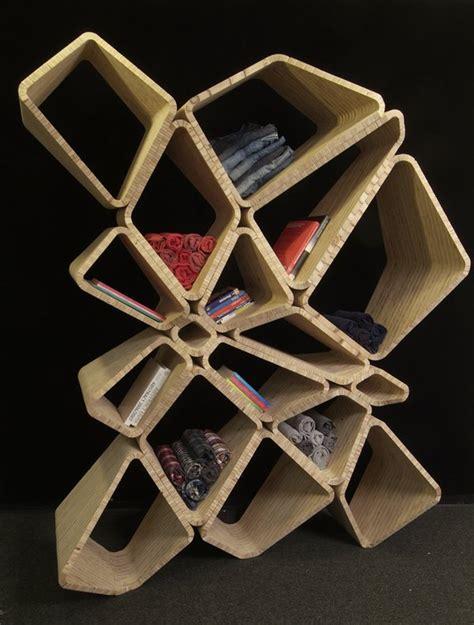 Creative Kitchen Cabinet Ideas interesting shelf design in random like cells position
