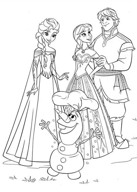 little elsa coloring page elsa and anna colouring pages olaf color galore