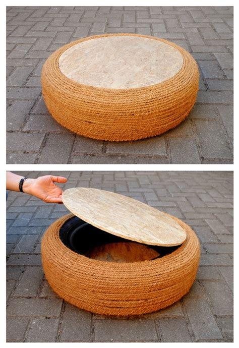 Reifen Tisch Selber Bauen by Upcycling M 246 Bel Aus Autoreifen Selber Bauen Solebich De