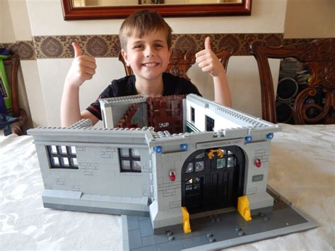 lego ghostbusters house lego ghostbusters fire house headquarters