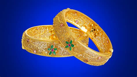Gold Kangan Wallpaper | golden kangan bangles designs antique indian jewellery