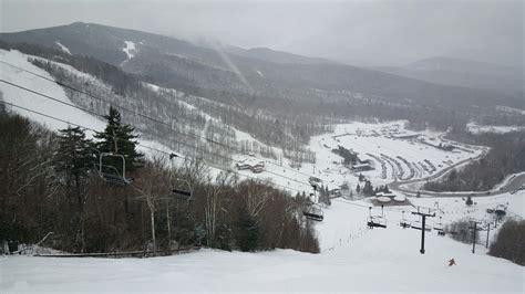 vermont weather killington snow report back to winter today