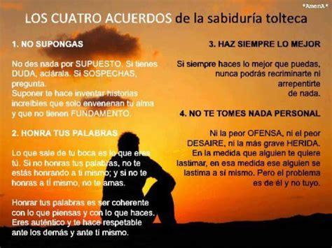 los cuatro acuerdos una 187842436x forum psicologos los cuatro acuerdos de la sabidur 205 a tolteca