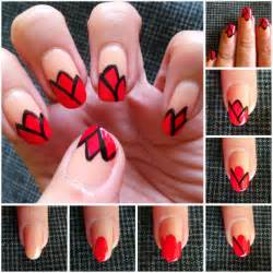 Step by step nail art picture tutorial best and easy designs to try 1