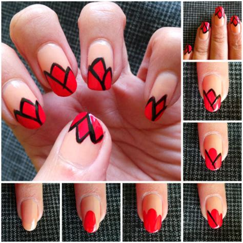 easy nail art tutorial step by step step by step nail art picture tutorial best and easy