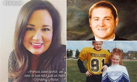 At Sons League by Mothers Sue Pop Warner Football League Sons Deaths