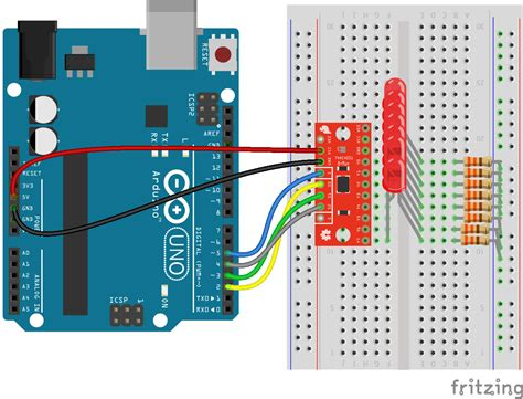 arduino digital output resistor multiplexer breakout hookup guide learn sparkfun