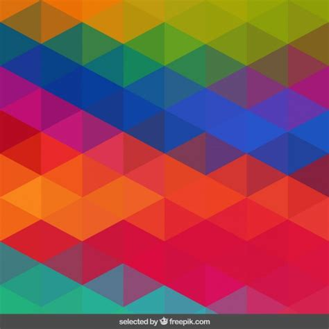 pattern vector color vivid colors geometric pattern vector free download