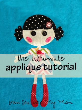 How To Sew Applique by Applique Sew Like My