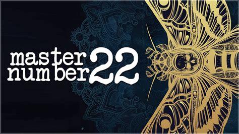 numerology secrets of master number 22 youtube