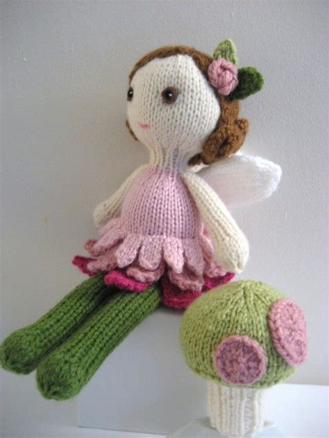 amigurumi knitting patterns amigurumi knit doll and pattern set digital