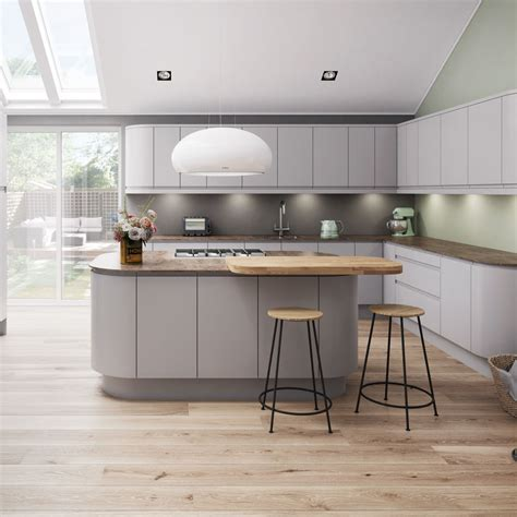 Alpine Graphite Kitchen Style & Ranges   Magnet Trade
