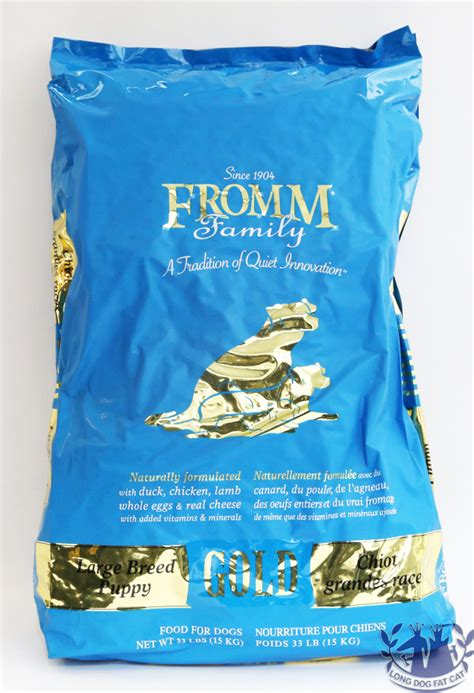 fromm gold large breed puppy fromm large breed puppy gold food