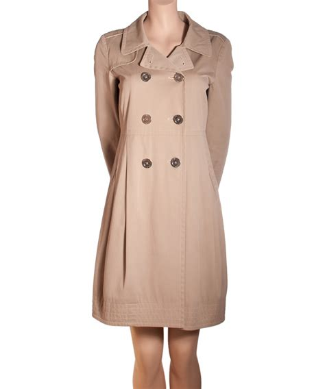 Cotton Trench Coat s max mara beige cotton trench coat artlistings