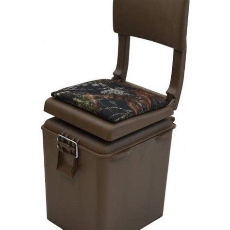 camo boat cooler seat hunting blind chair ice fishing insulated cooler seat