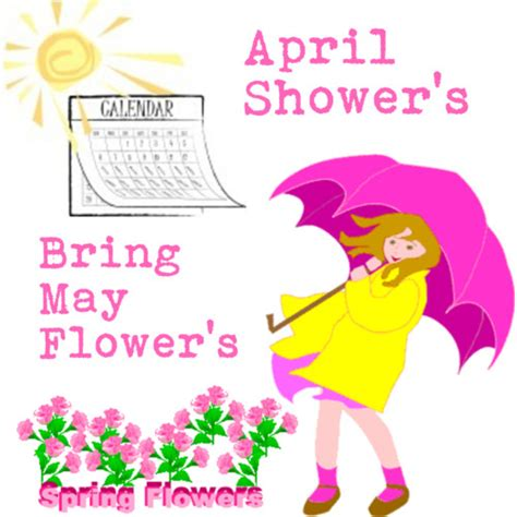 April Showers Bring by April Showers Clipart Clipart Suggest
