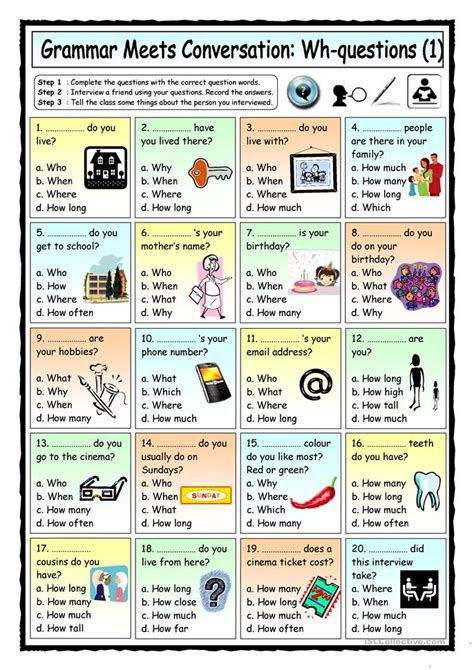 printable english language games for adults grammar meets conversation wh questions 1 getting to