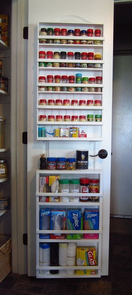 pantry door organizer 25 best ideas about door spice rack on pinterest pantry