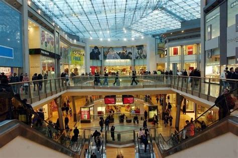 Ring Shops by Shoppers Trapped Inside Birmingham Bullring Shopping