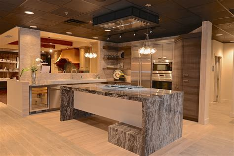 Display Kitchen Cabinets by Our New Display At The Roth Living Showroom Steve S