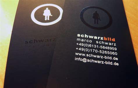 Visitenkarten Hochformat by 380g Visitenkarte Auf Schwarzem Karton 187 Printweb De