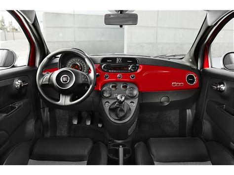 fiat 500 custom interior 2012 fiat 500 prices reviews and pictures u s news