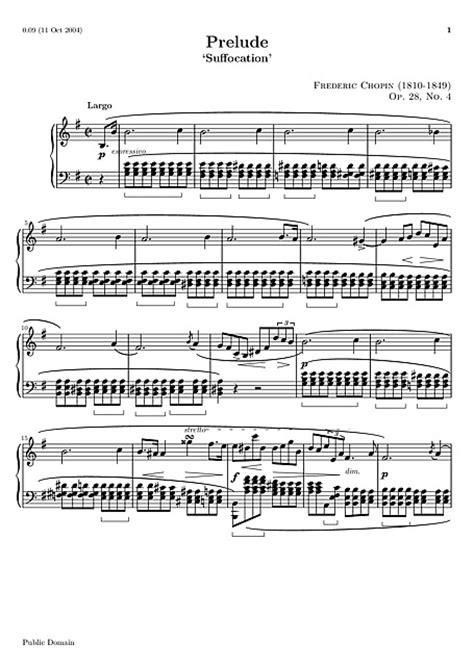 Prelude No. 4 Original version - Piano - Partitions