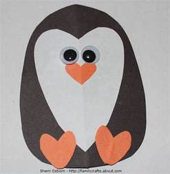 Penguin Papercraft - how to make an adorable penguin craft